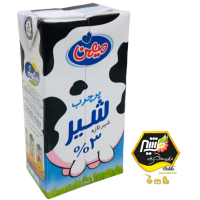 شیر پرچرب میهن - 1 لیتری